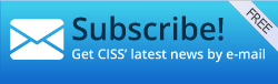 Sign up for free to our newsletter and receive CISS' latest news directly in your e-mail.