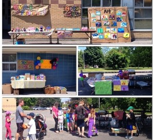 Bake Sales, Used Book Sales, and Children's Art Sales are great ways to get your community and parents involved. These organized events bring people together and allow children to showcase their work, lend a hand and build overall self-esteem while taking pride in their involvement!