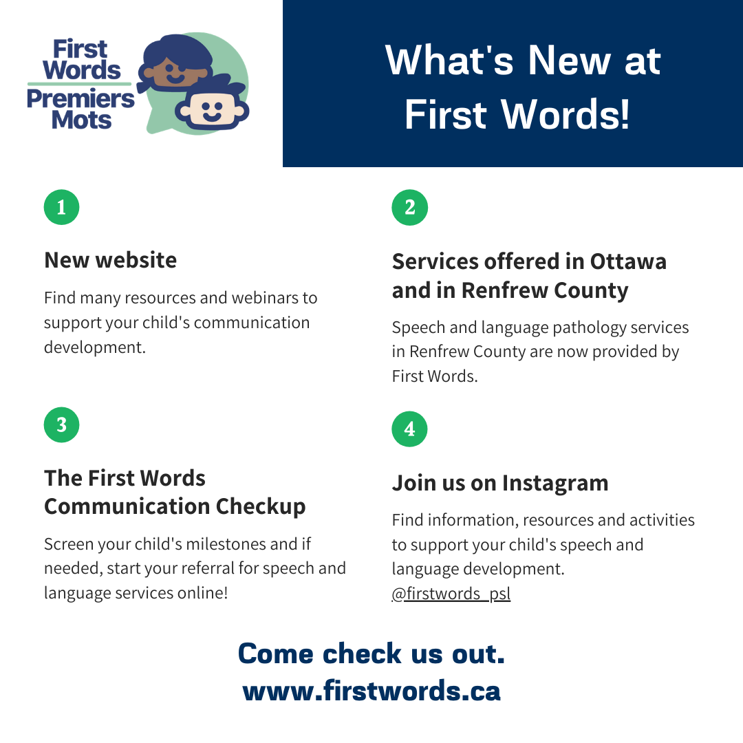 Email-What's New at First Words (1)